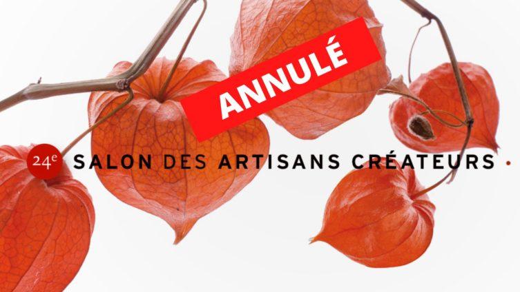 Le 24ème Salon des Artisans Créateurs de Lodève est annulé