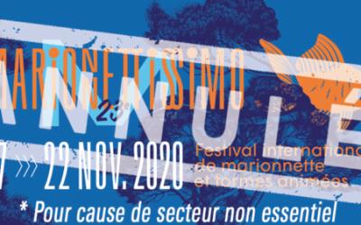 Vivez l'édition numérique du festival Marionnettissimo jusqu'au 22 novembre
