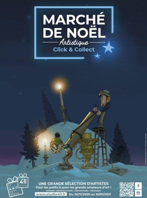 Montpellier : le 411 Galerie organise un marché de Noël artistique en «click & collect»