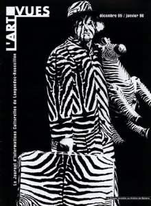 L'ART VUES DECEMBRE 1995 JANVIER 1996