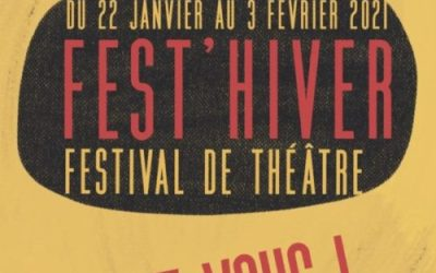 Avignon : le festival de théâtre Fest'hiver se déroulera en ligne du 22 janvier au 3 février