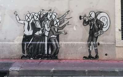 Montpellier : une fresque éphémère des artistes Mara et No Luck au Polygone jusqu'au 17 janvier
