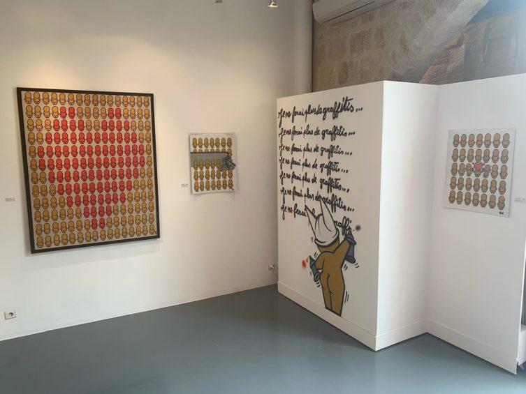 Montpellier : le street artiste Jace exposé à la galerie At Down jusqu'au 25 mars