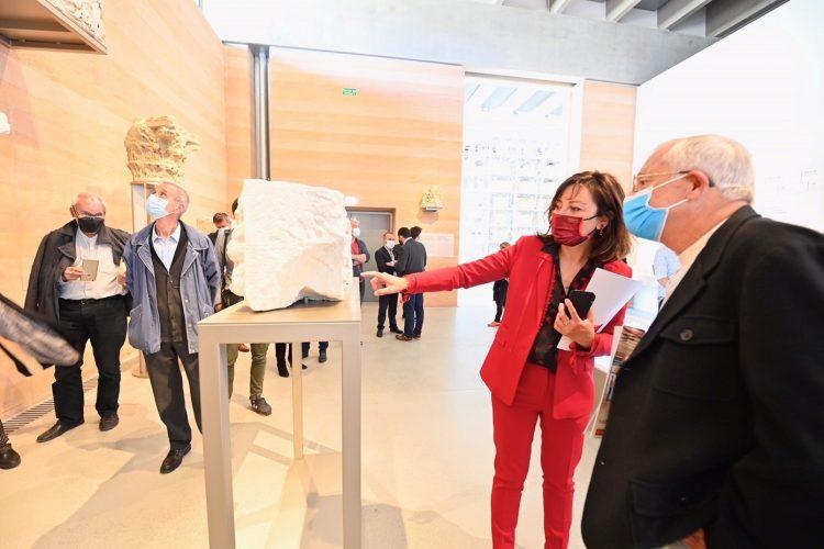 Narbonne : Carole Delga annonce la gratuité du nouveau musée Narbo Via au mois de juin