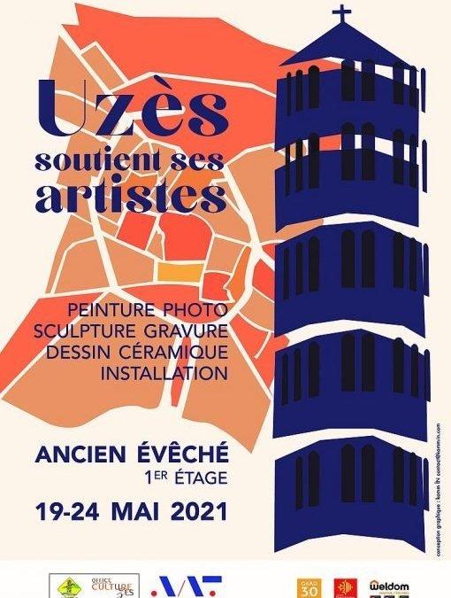Uzès : une exposition en soutien aux artistes du 19 au 24 mai