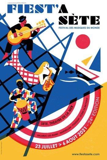 Sète : la 24ème édition de Fiest'A Sète ce sera du 23 juillet au 6 août