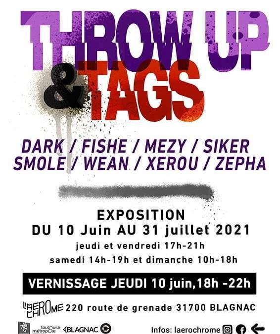 Blagnac : L'Aérochrome présente l'exposition Tags & Throw up jusqu'au 31 juillet