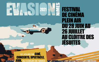 Nîmes : Une salle sous les étoiles, un nouveau festival cinéma à découvrir cet été !