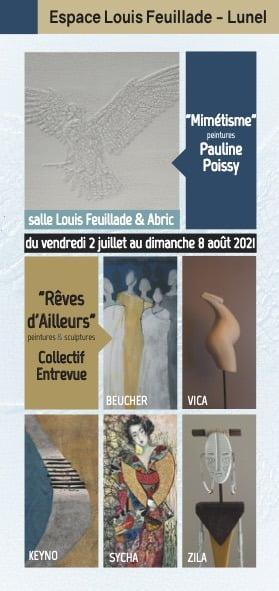 Lunel : l'espace Louis Feuillade réouvre avec deux expositions à voir jusqu'au 8 août