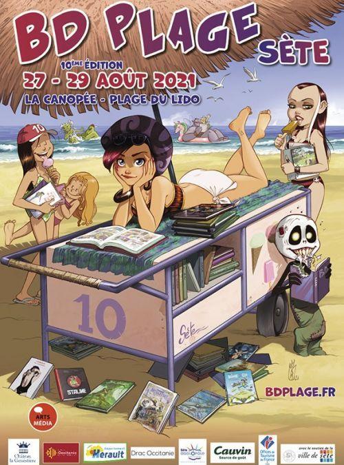 Sète : BD Plage s'installe au Lido du 27 au 29 août