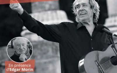 Montpellier : un concert exceptionnel de Paco Ibanez en hommage au centième anniversaire d'Edgar Morin