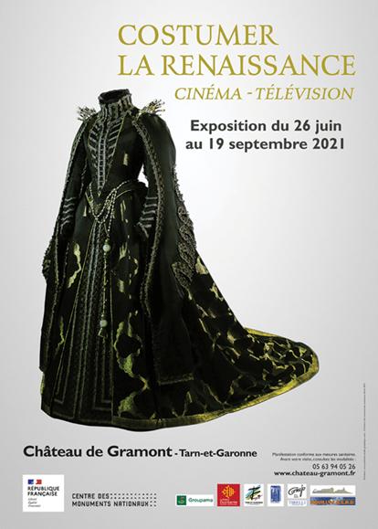 Tarn-et-Garonne : au château de Gramont, une expo sur les plus beaux costumes Renaissance du cinéma