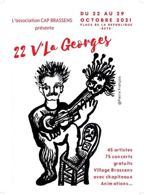 Sète : le festival 22 V'la Georges de retour du 22 au 29 octobre pour célébrer Brassens