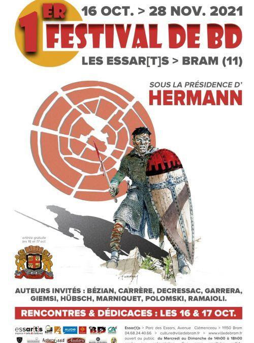 Bram : 1er Festival de la BD du 16 octobre au 28 novembre