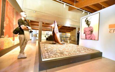 Lattes : l'artiste Raphaël Barontini expose au musée archéologique Lattara jusqu'au 7 mars