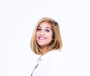 Sandra Rey, ceo, founder, glowee, photographed in Paris