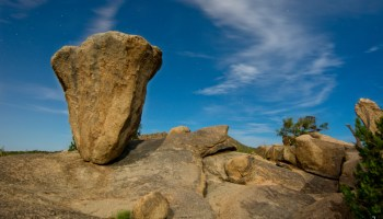 Balanced Rock in Granite Mountains, Scottsdale, AZ