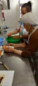E para o lanche, clafoutis de cereja 2