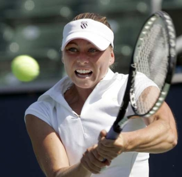 Yet another of the great beauties for which Russia is justly famous, Vera Zvonareva struts her feminine mystique for all to see