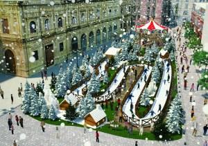 plaza san francisco navidad