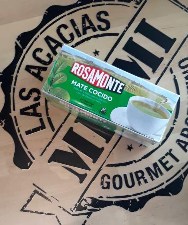 Mate cocido Rosamonte, 25 saquitos