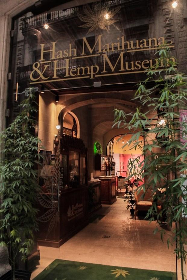Hash Marihuana & Hemp Museum en Barcelona