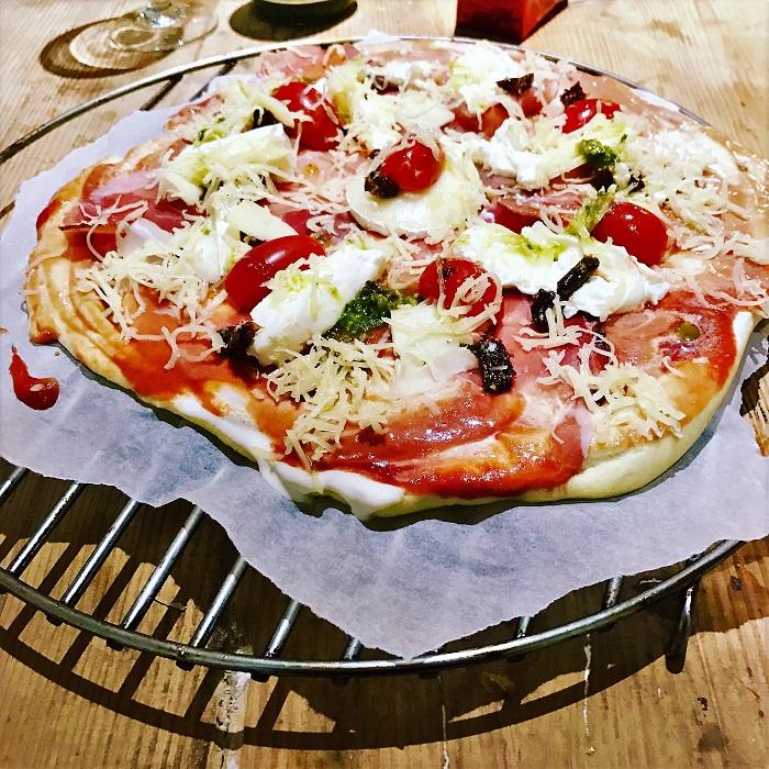 recette rapide pate pizza maison
