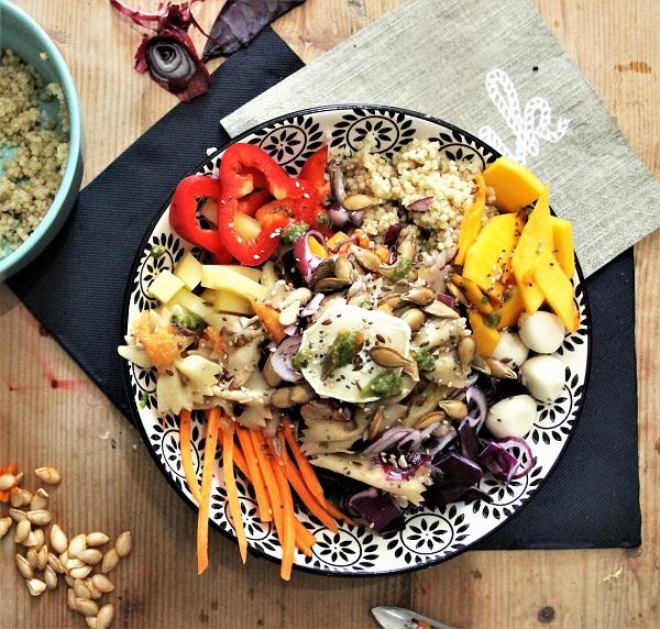recette du buddha bowl pour une salade d 39 automne la. Black Bedroom Furniture Sets. Home Design Ideas