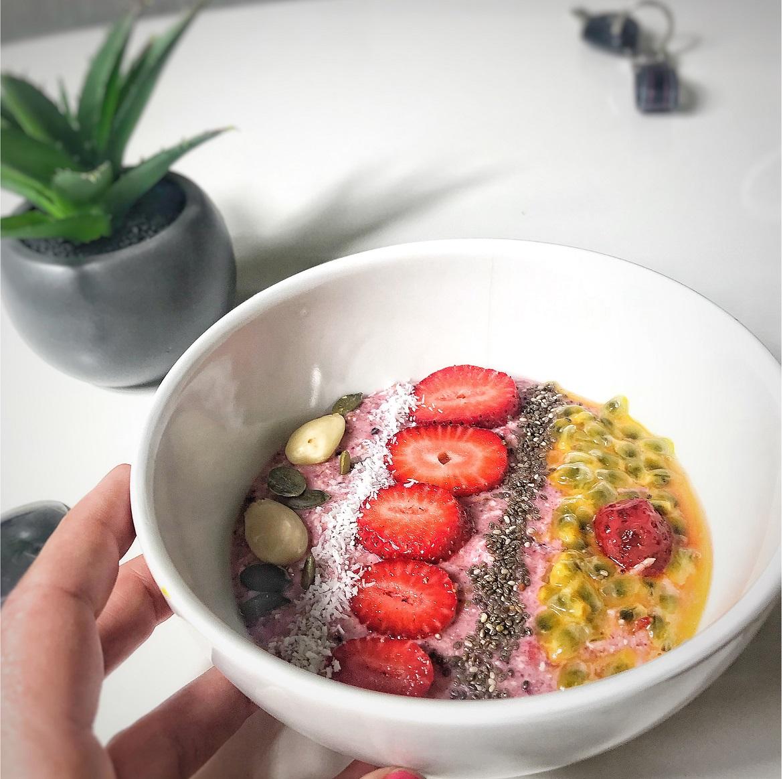 smoothie petit déjeuner perte de poids