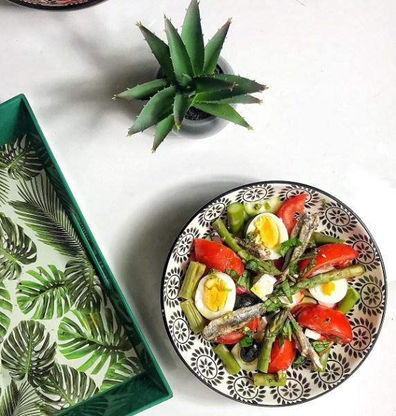 recette de la vraie salade niçoise