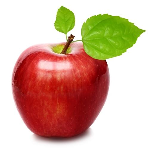 Une magnifique pomme à la peau lustrée aux pesticides (image emprunté sur le site