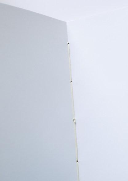 fil de reliure du carnet fait main A5 Lilas