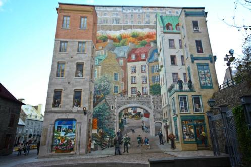 Mural Place Royale