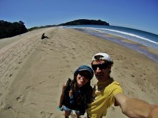 Playa de hot water beach