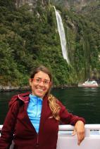 Ruth en Milford Sound