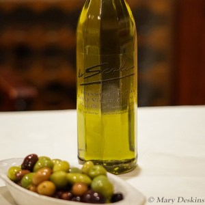 Olive oil, Salad Dressings and Bread