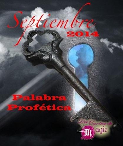 Palabra Profética para el Mes de Septiembre de 2014