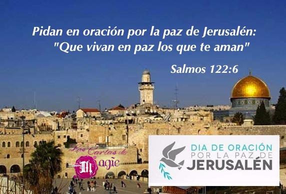 Oremos por la Paz de Jerusalén