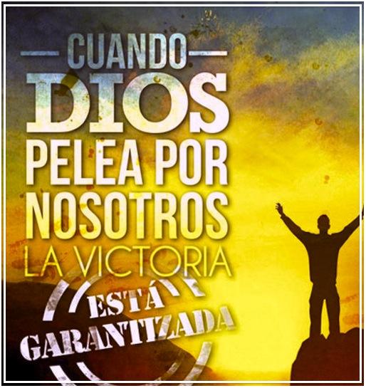 No temas, Dios pelea por ti