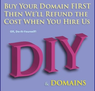 Buy Your New Domain and DIY Services