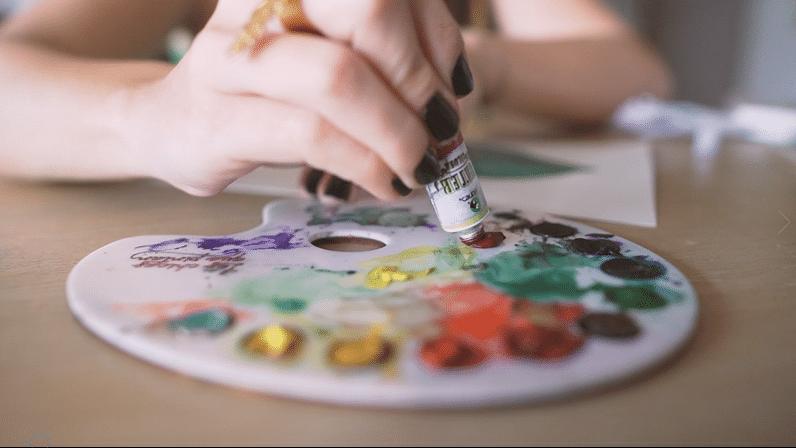 taller de ACUARELA las chicas que pintan