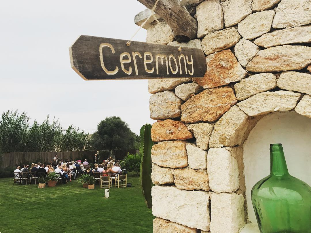 We had a beautiful September wedding on our lawn ✨ styled by @velvetcircusibiza // planned by @ibizacloud9 // #september #wedding #green #garden #meditteranean #eventspace #privateevent #lascicadasibiza #ceremony #cicadascelebrations #rustic #chic #ibizastyle #fincaibizenca #holidayhome #ibiza2017