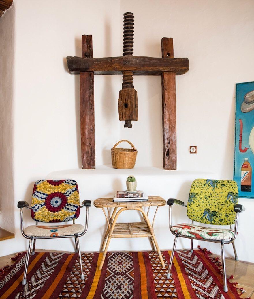 Cozy & Colorful /// #lascicadasibiza #interiors #stylish #rustic #vintage #ethnic #ibizastyle #finca #ibicenca #casapayesa #olivepress #countryhouse #style #deco #kilim #livingroom #holidayhome #villarental #vacationvilla #vacation #destination #ibiza #ibiza2018 #home #islandlife ///