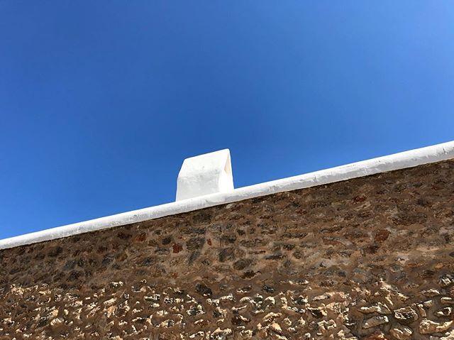 💙 #ibiza #finca #bluesky #rustic #arquitecture #lascicadasibiza
