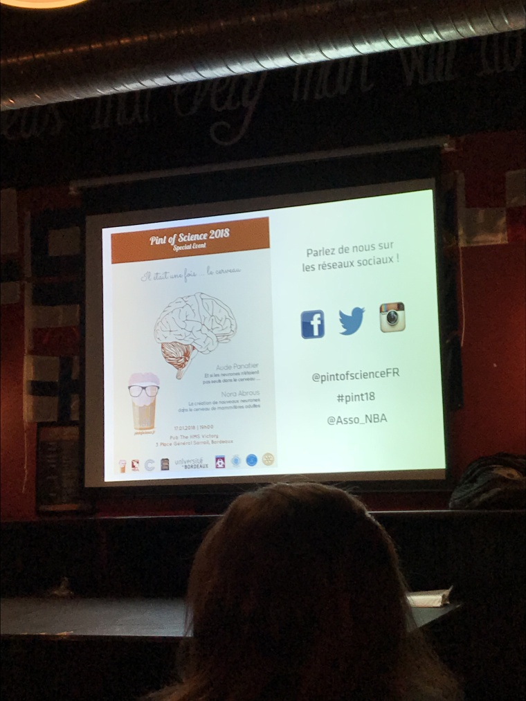 Pint Of Science, Pint18, Festival, Neurosciences, Conférence