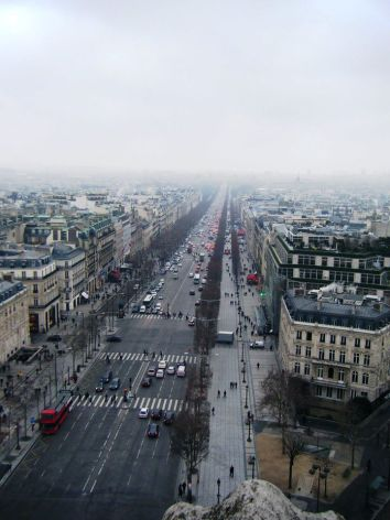 Panoramica Champs Elysées