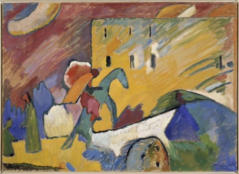 Improvisación III (Improvisación III), 1909.