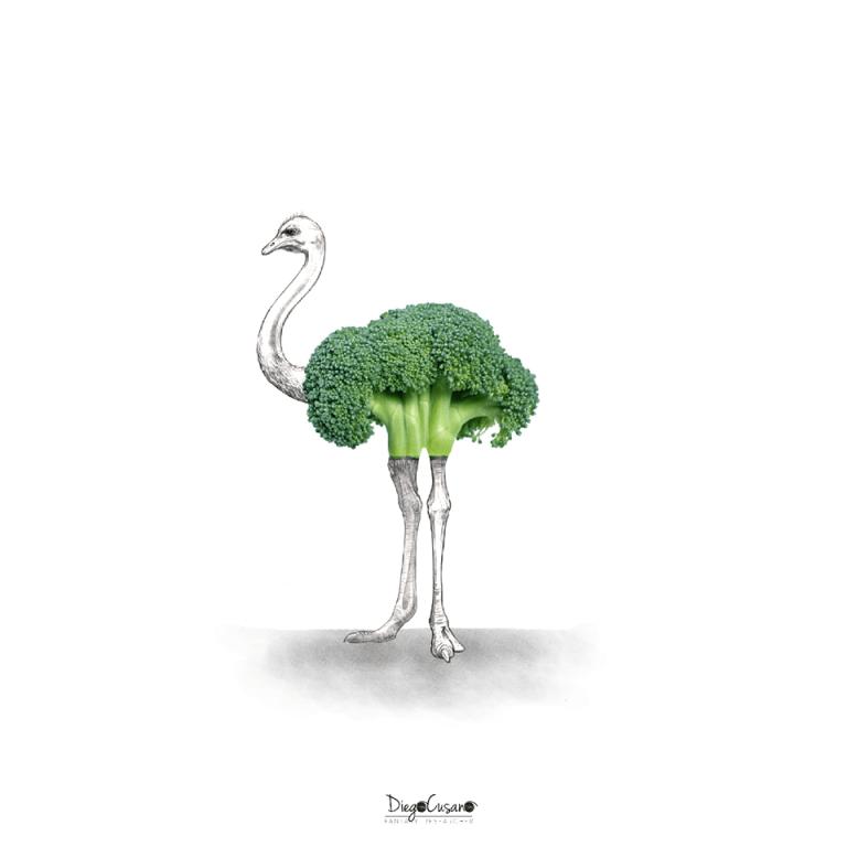 Green Ostrich 2015