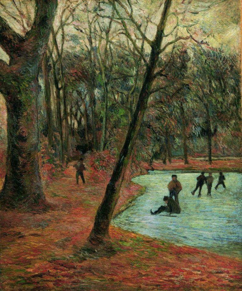 MIN 3213, Gauguin, Skõjtelõbere i Frederiksberg Have