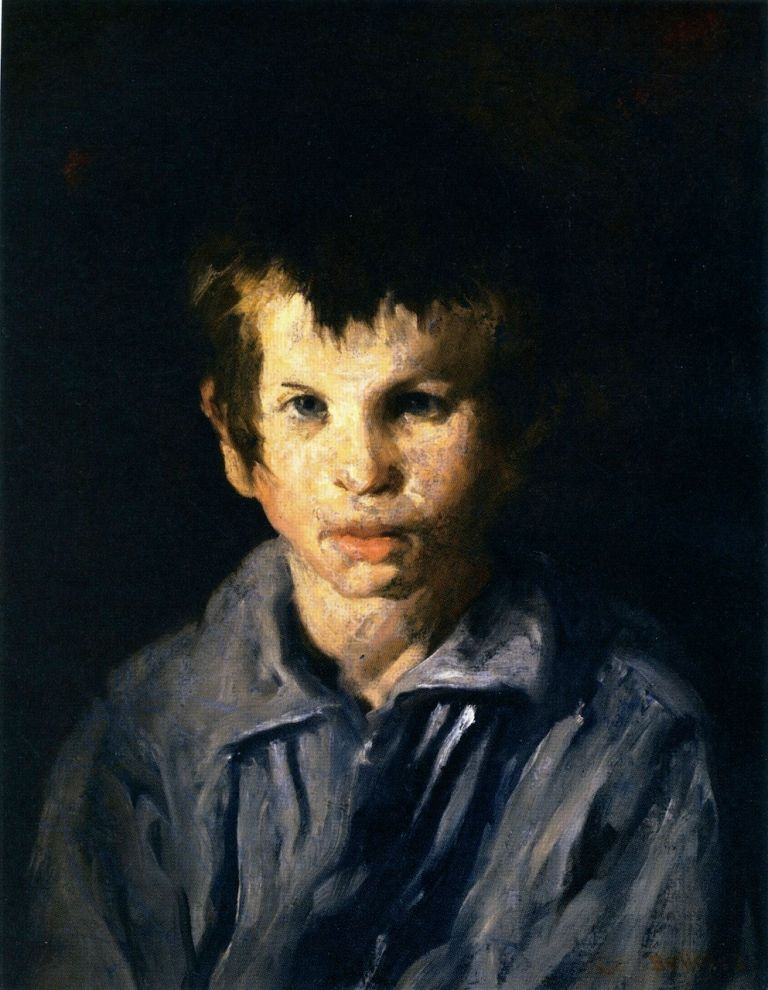 George_Bellows_-_Cross-Eyed_Boy_(1906)